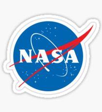 NASA Glänzender Sticker