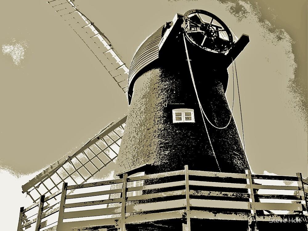 Bursledon Windmill by Steve Holt
