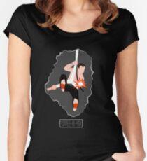 Nakatomi Views Women's Fitted Scoop T-Shirt