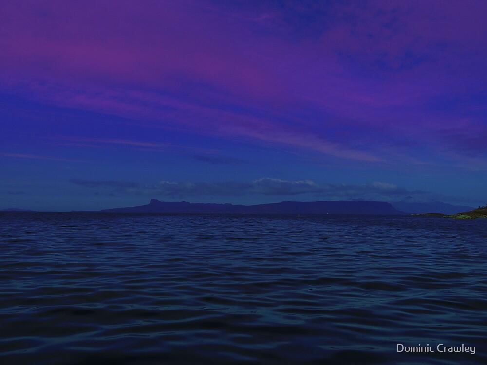 Skye at dusk by Dominic Crawley