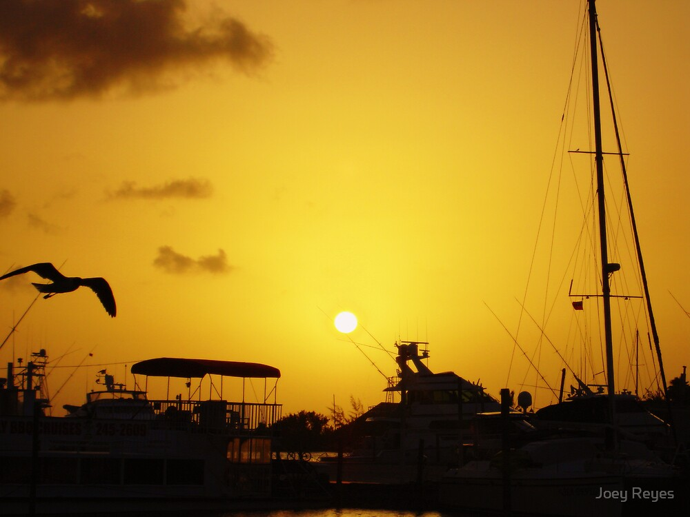 Sunset at the Harbour by Joey Reyes