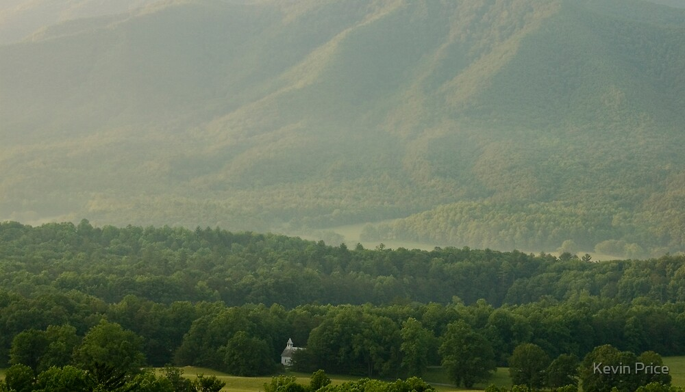 Methodist Church in Cades Cove by Kevin Price