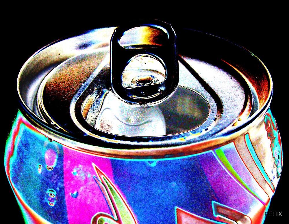 Coca-Cola in my eyes by FELIX