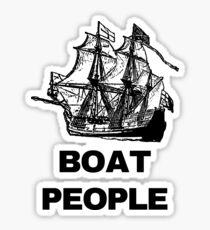 Boat People Sticker