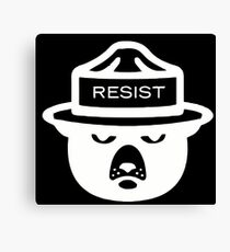 RESIST - US National Parks and Forest Service Canvas Print