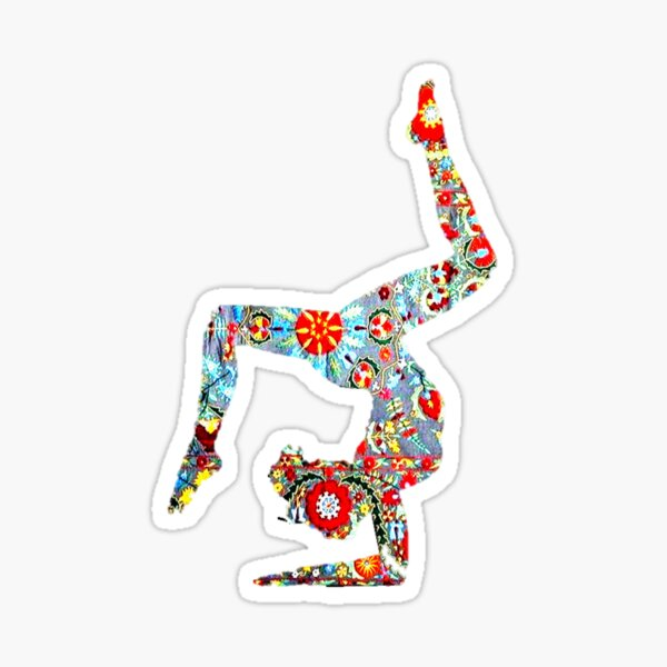 YOGA. BEND IT LIKE BIKRAM Sticker
