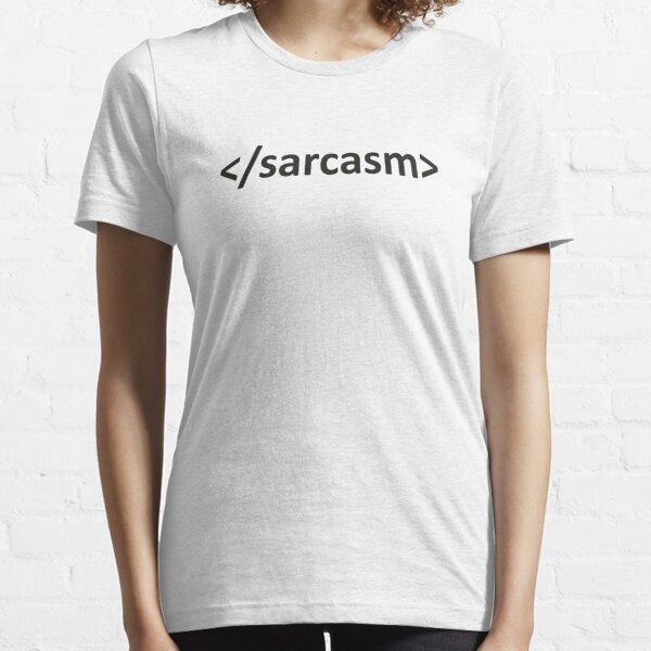 Forward Slash Sarcasm Code Essential T-Shirt