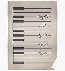 Fix You lyrics Poster