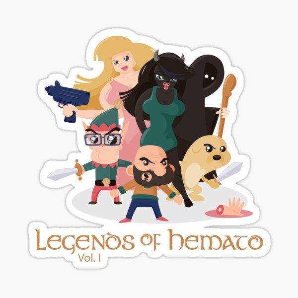 Legends of Hemato Vol.I Pegatina