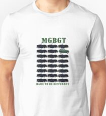 MGBGT Dare to be different Unisex T-Shirt