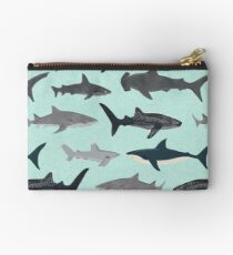 Sharks, illustration, art print ,ocean life,sea life ,animal ,marine biologist ,kids ,boys, gender neutral ,educational ,Andrea Lauren , shark week, shark, great white shark,  Studio Pouch