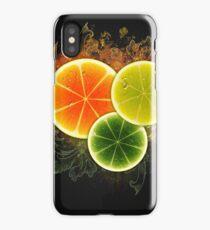 Citrus slices design iPhone Case/Skin