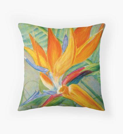 Paradise's Bird Throw Pillow