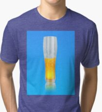 Glass of beer Tri-blend T-Shirt