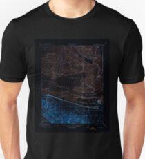 USGS TOPO Map California CA Honker Bay 296169 1918 31680 geo Inverted T-Shirt