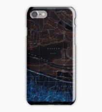 USGS TOPO Map California CA Honker Bay 296169 1918 31680 geo Inverted iPhone Case/Skin