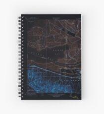 USGS TOPO Map California CA Honker Bay 296169 1918 31680 geo Inverted Spiral Notebook