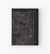 USGS TOPO Map California CA Honker Bay 296169 1918 31680 geo Inverted Hardcover Journal