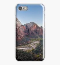 Angels Landing - Zion National Park, Utah iPhone Case/Skin