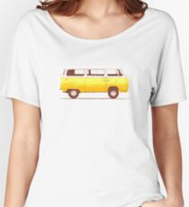 Yellow Van Women's Relaxed Fit T-Shirt