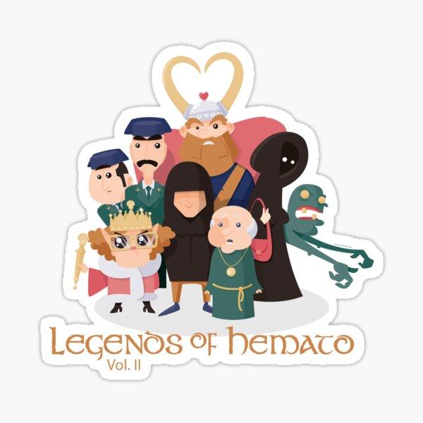 Legends of Hemato Vol.II Pegatina