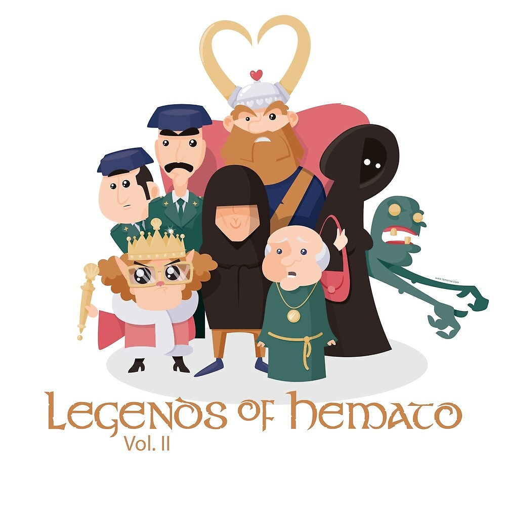 «Legends of Hemato Vol.II» de medibu
