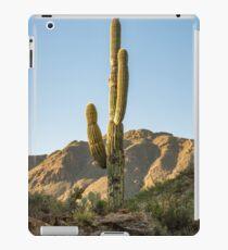 Lonley Cactus in Saguaro National Park iPad Case/Skin