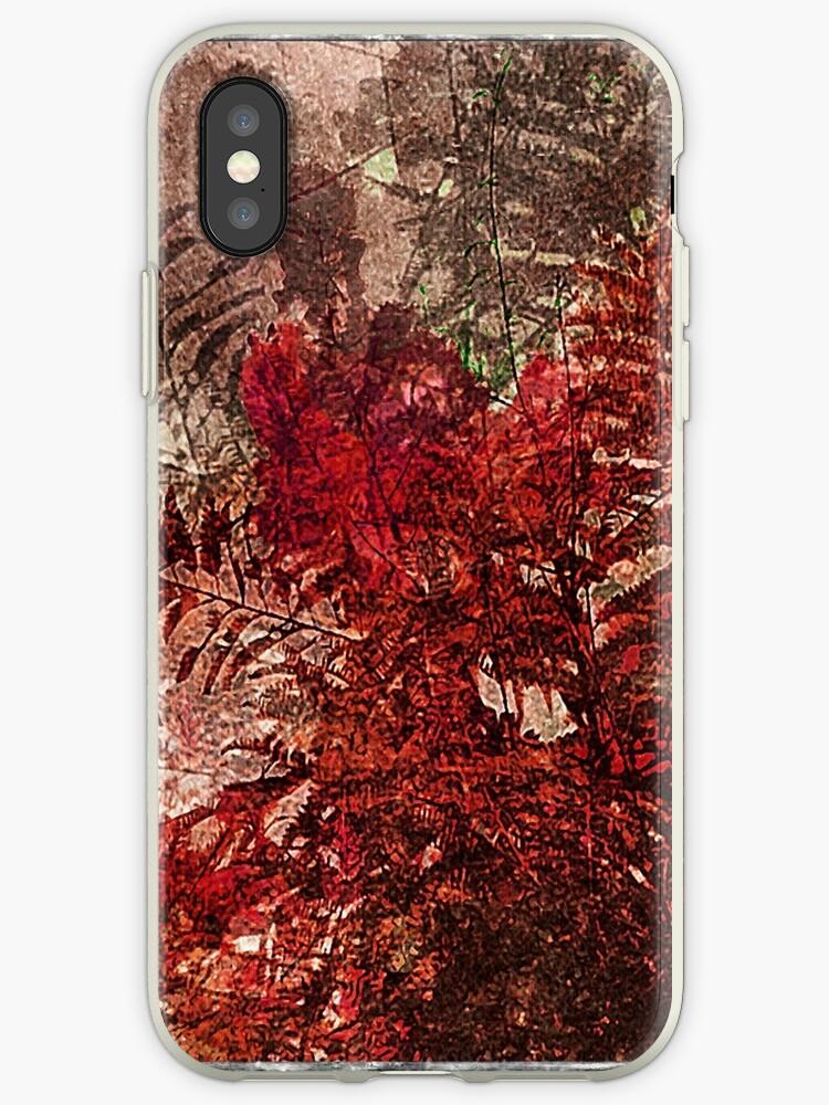 Decorative Leaves Artistic Design by DFLC Prints
