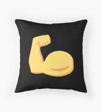 Muscle Man Throw Pillow