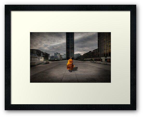 A Monk in Montparnasse by laurentlesax