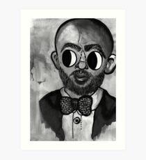 michael k. williams Art Print