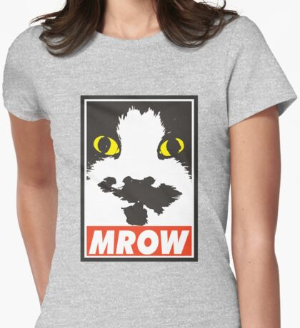 MROW - obey! Womens Fitted T-Shirt