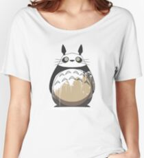 Totoro Painting Panda Women's Relaxed Fit T-Shirt