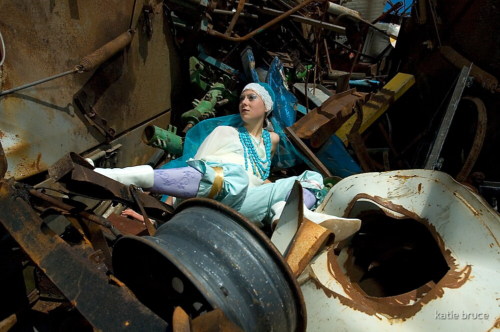scrap yard girl by katie bruce