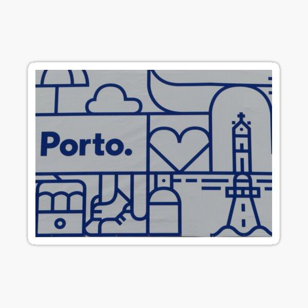 Porto - A Fantastic City Sticker