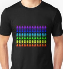 Psychedelic teddy bears. Unisex T-Shirt