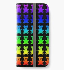 Psychedelic teddy bears. iPhone Wallet/Case/Skin