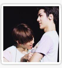 sehun and baekhyun sticker Sticker