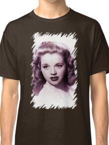 Diana Dors vintage color Classic T-Shirt