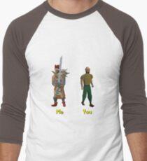 Me vs You Runescape Men's Baseball ¾ T-Shirt