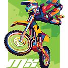 MX Airborne Motocross Stunt Fly by toni-agustian