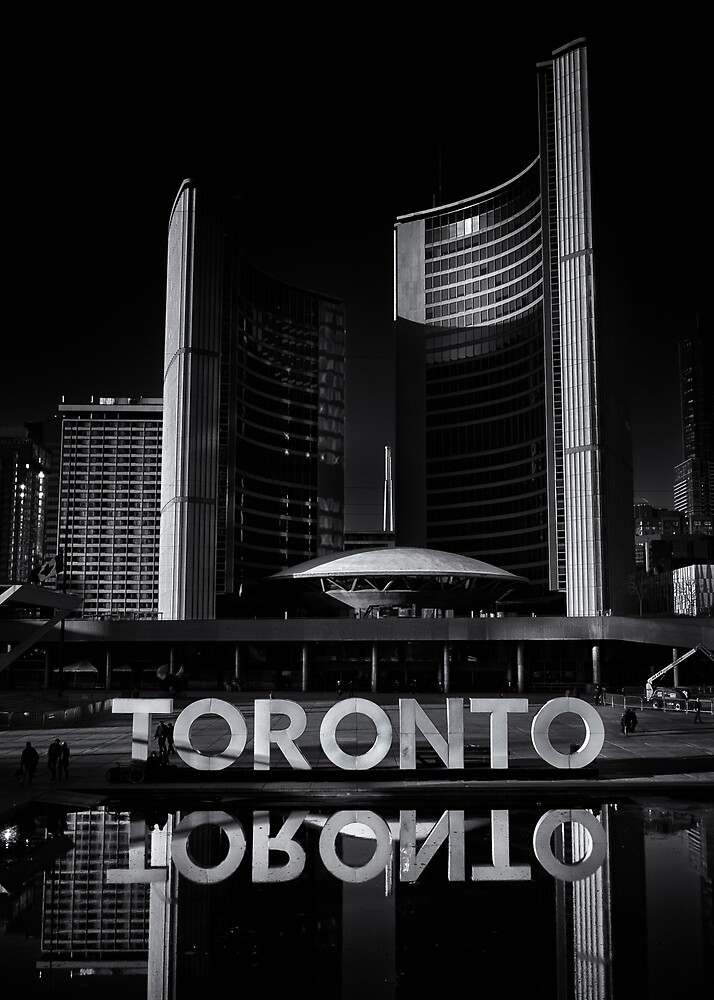 Toronto City Hall No 1 by Brian Carson