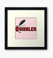 The Quibbler Framed Print