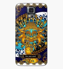 Free Your Mind: Multicultural Buddha  Case/Skin for Samsung Galaxy