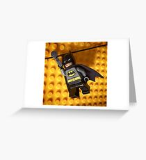 Bat grapple line Greeting Card