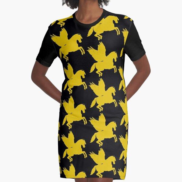 Pegasus gold  Graphic T-Shirt Dress