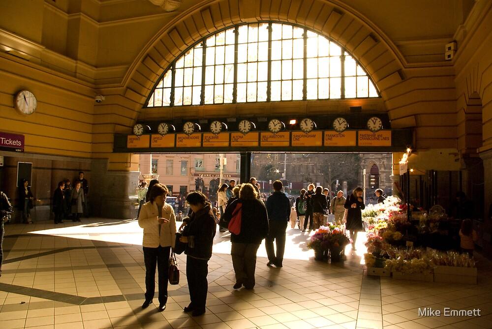 Flinders Street Station by Mike Emmett
