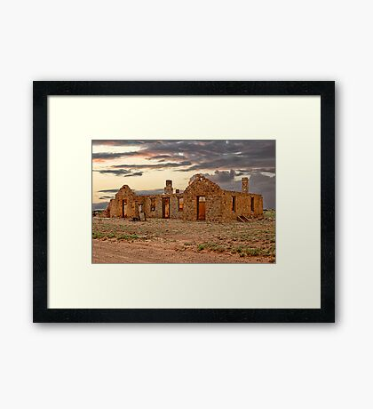 The Transcontinental Framed Print