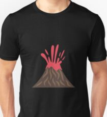 Volcano Eruption , Disaster Unisex T-Shirt