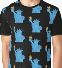 Statue of Libety Graphic T-Shirt